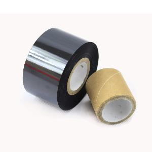 30mm x 100 mtr Black Coding Foil Ribbons, Ink Inside. (12 Ribbons)