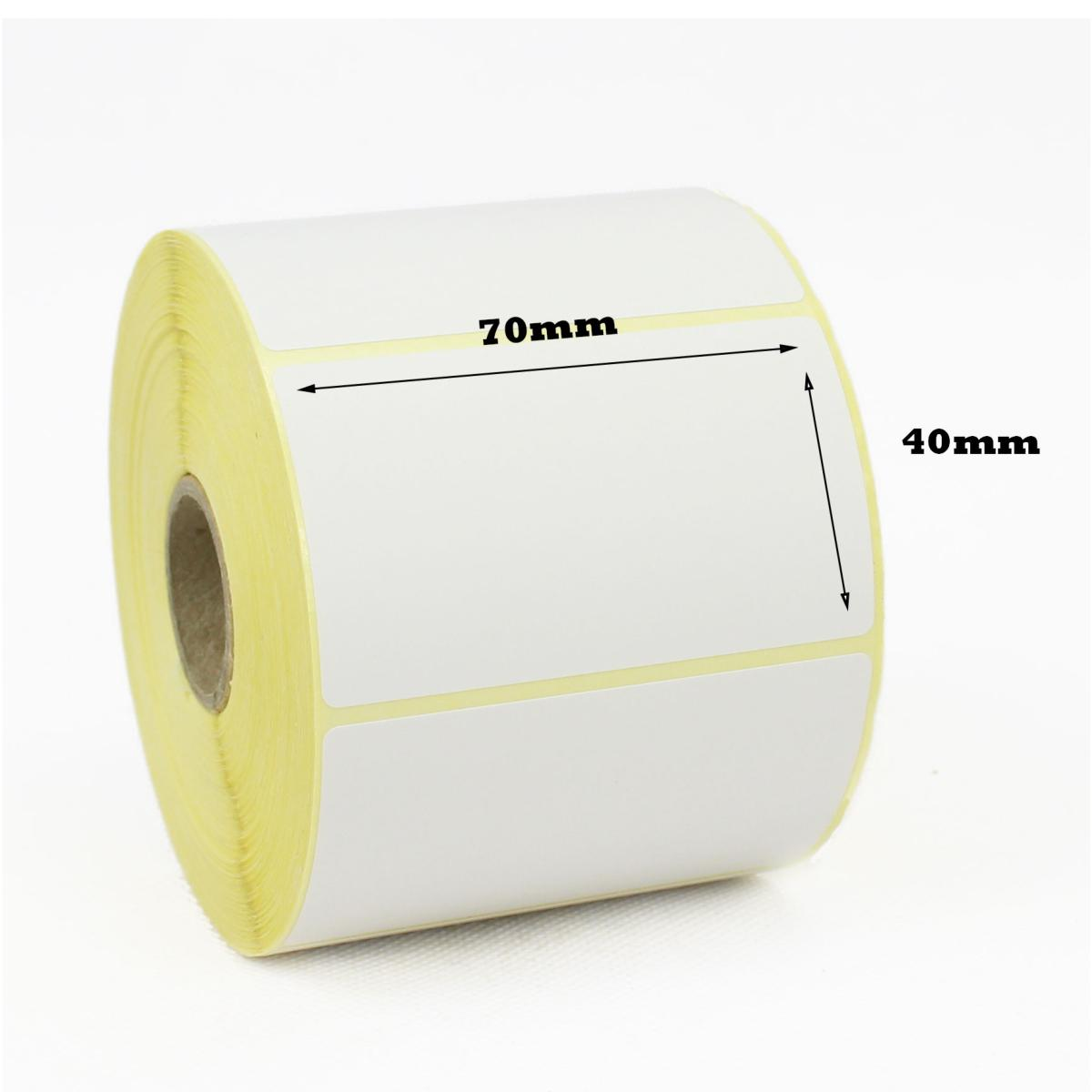 70 X 40mm Direct Thermal Labels Economy Cdm Labels