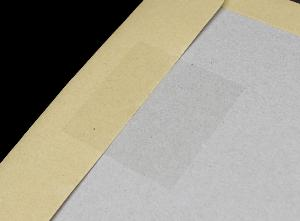 1,000 - 76mm x 76mm square clear polypropylene seal labels.