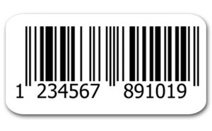 EAN-13 Printed Barcode Labels