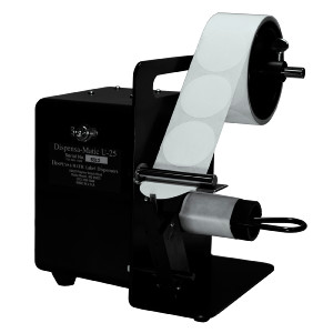 Dispensa-Matic U25 Electric semi automatic label dispenser.