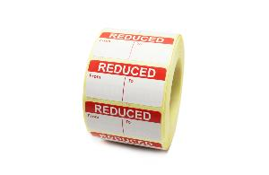 REDUCED - FROM / TO PRICE Labels - 50 x 25mm