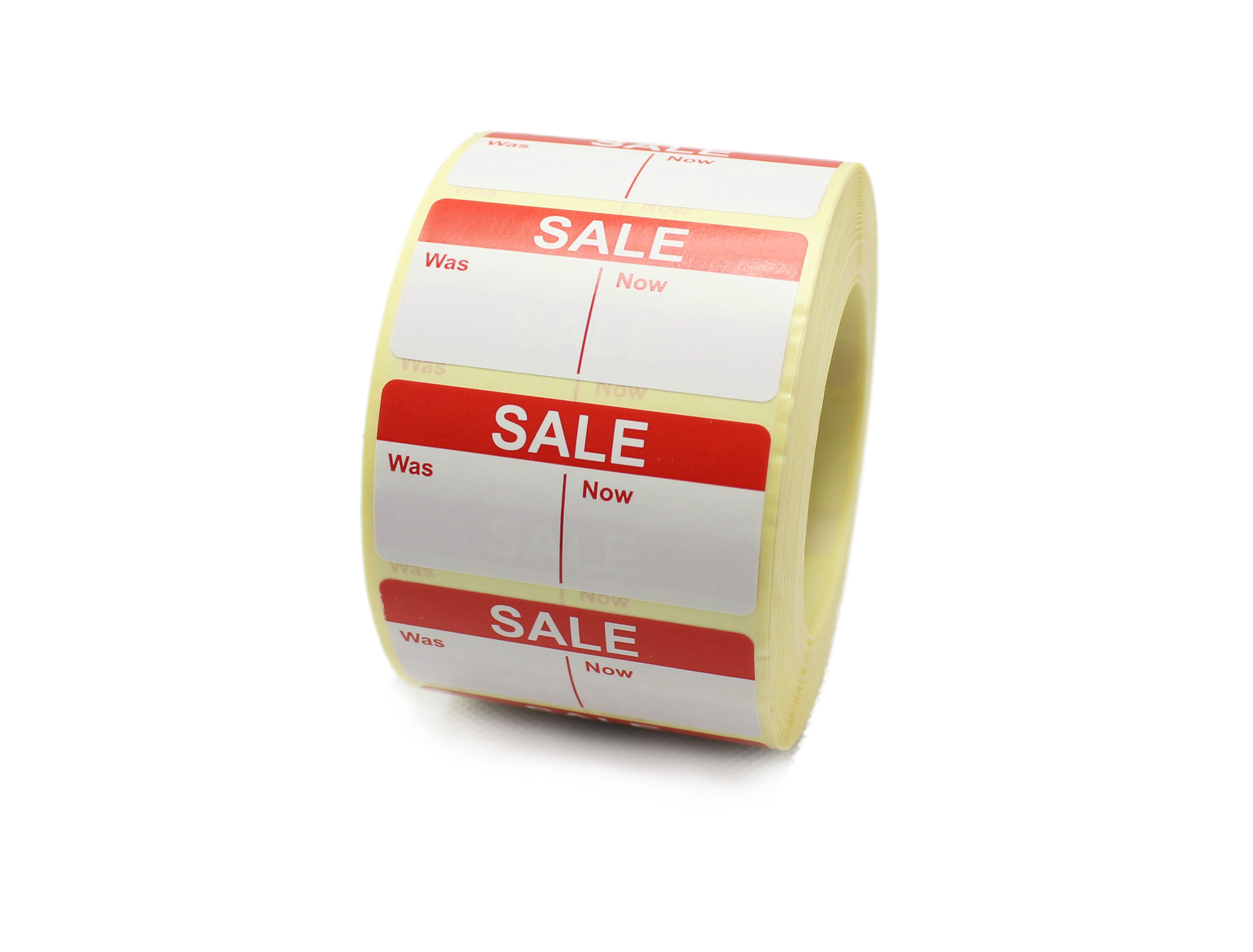 SALE - Was / Now Labels - 50 x 25mm