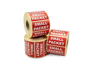 Small Packet Labels - 50 x 25mm