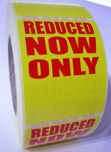 REDUCED - NOW ONLY Labels - 61 x 79mm