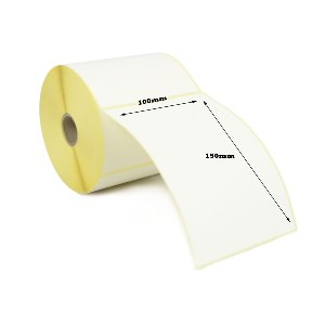 Zebra GC420D 100 x 150mm Direct Thermal Labels  With Perforation - Economy