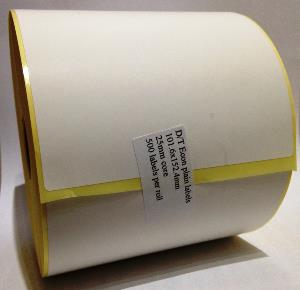 101.6 x 152.4mm Direct Thermal Labels - Economy