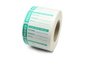 PAT Test Label - Visual Inspection - Passed - 50 x 25mm